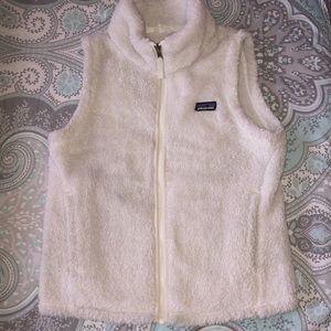 Girls Patagonia Fleece Vest